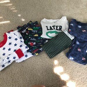 Baby Boy PJ Bundle 2T- (4 Pairs)